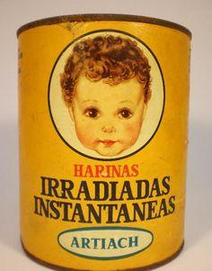 Bote Leche. HARINAS IRRADIADAS INSTANTANEAS,TIPO Z ARROZ, ARTIACH, 250 g.