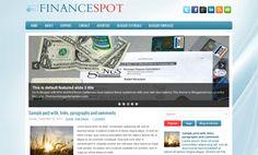 Template FinanceSpot Blogger