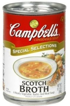 """<p>Despite my preference for homemade soups, there have always been a couple of """"easy soups"""" the family and I enjoy.  One of these was Campbell's Scotch Broth, a very hearty barley soup made with lamb.</p><p>Unfortunately, Campbell's recently made a business decision to discontinue several of their soups which were based on relatively costly ingredients so they could concentrate on their various chicken noodle soups marketed at kids and based around their cheap and crappy chicken broth…"""
