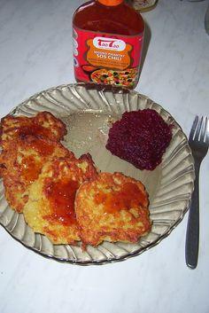 Smakowymix- placki ziemniaczane z sosem słodko-pikantnym chili TaoTao dla podkreślenia smaku!