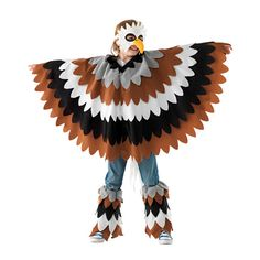 Kuvahaun tulos haulle how to make an owl costume Eagle Costume, Costume Garçon, Lion King Costume, Bird Costume, Best Kids Costumes, Book Day Costumes, Family Costumes, Boy Costumes, Halloween Costumes