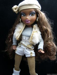 cute Bratz doll with fun outfit