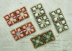 Linda's Crafty Inspirations: Beading News - 5mm Mini Silky Beads