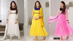 Catalog Name : SS2449  Designs : 10 MOQ : Full Catalog http://www.ekhantil.com/attractive-designer-anarkali-suit-wholesale/ #slawarsuit#anarkali#replica#dress#salwarkameez#semistiched#dresssmaterial#kurti