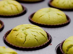 MATCHA GREEN TEA MOCHI CUPCAKES