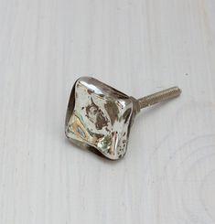 Mercury Glass Knob, Drawer Pulls, Glass Knobs, Cabinet Knobs ...