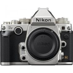 Nikon Df A handsome, classic looking D-SLR with modern image-capturing capabilities Nikon Digital Camera, Nikon Dslr Camera, Digital Slr, Nikon Cameras, Reflex Camera, Nikon Df, Nikon D5200, Old Cameras, Camera Reviews