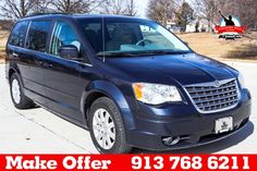 2008 Chrysler Town & Country $9900 http://www.countryhillolathe.com/inventory/view/9759091