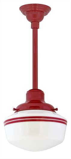Primary Schoolhouse Stem Mount Light for the kitchen over sink and over island? must check measurments
