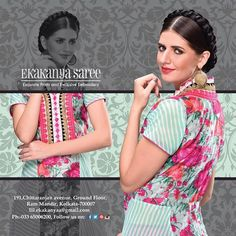 Simply a fashionista's delight. Ekakanya brings for you modern and gorgeous collection of Tunics.... compliments the season perfectly. #Elegance #EthnicWear #BeingConfident #EkakanyaSarees