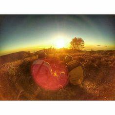 A cup of joe with a view of sunrise such a blissful life #yicambandung #bandung #bandungjuara