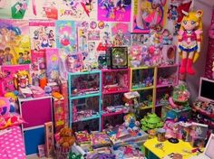 Colorful and adorable room
