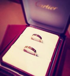 Matching Cartier wedding bands