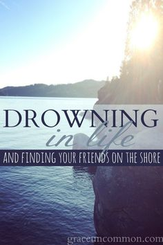 Have you ever thought you could make yourself a human life-preserver and just throw yourself out to anyone who seemingly needed your rescue only to find that you were left the one going down? Sometimes we want to help, but the person we want to save doesn't want helping. Find out where to turn when you realize you're the one drowning.
