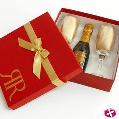 Lembrancinha para padrinhos de casamento. www.rosapittanga.com.br