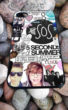 5SOS collage for iPhone 4/4s/5/5S/5C/6, Samsung S3/S4/S5 Unique Case *95*