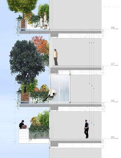 In Progress: Bosco Verticale / Boeri Studio,Section - Courtesy of Boeri Studio