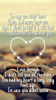 In case u didn't know...All of My Love, Always 4 U