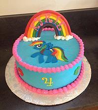 My Little Pone Birthday Cake