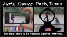 #France vs #Texas when it comes to dealing with #Terrorists, #ISIS, #IS, #ISIL and other crazy nut jobs.