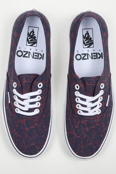 Vans kicks into high fashion gear with a Kenzo collab Because I need another pair of vans.