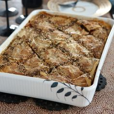 Borek is a Middle Eastern pastry filled with anything from vegetables to cheese and ground meat. For this version, Meltem Conant sautes eggplant, peppers and tomatoes and bakes them in layers of phyllo. It's a great option for a vegetarian main course.