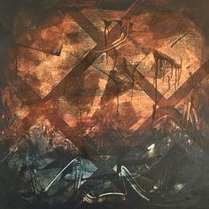 Abstract 100 x 100cm  Pia Haugseth 2015