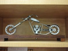 Metal Art Motorcycle