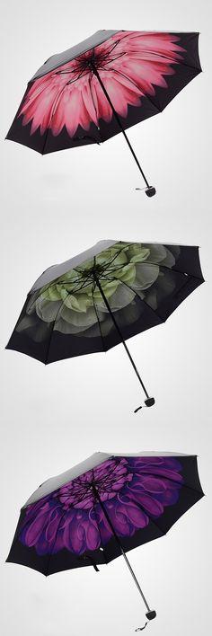 floral umbrellas