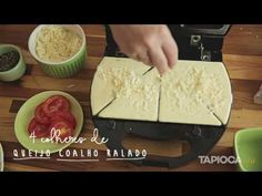 Tapiocando - Crepioca na sanduicheira - YouTube