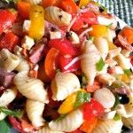 Greek Potato Salad is an easy, light, healthier version of potato salad that is loaded with flavor from Greek vinaigrette dressing, feta cheese, black olives, and tomatoes. It is perfect for an outdoor picnic or potluck because it has no mayonnaise. ~ http://FlavorMosaic.com