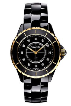Chanel black watch