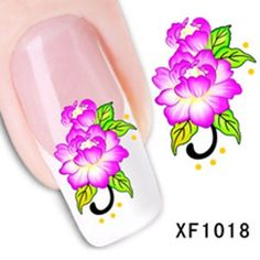 Nagelsticker water transfer XF 1018