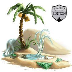 Oasis Water Node Trap + Dragon Jade Base