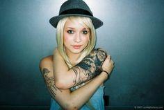 I love her Frankenstein tat...
