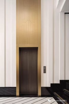Lobby Interior, Luxury Interior, Modern Interior, Interior Architecture, Interior Design, Elevator Lobby Design, Elevator Door, Lift Design, Wood Cladding