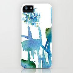 Atom Sea #11 iPhone & iPod Case by Marina Kanavaki - $35.00