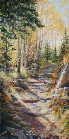 Mary Giacomini is a Colorado artist who loves to paint the Rocky Mountain landscape. She paints proficiently in oil, pastel and watercolor. She teaches art classes both out of her studio and for the Loveland Museum Gallery, in Loveland, Colorado. Mountain Landscape, Landscape Art, Classical Art, Gold Rush, Art Activities, Teaching Art, Rocky Mountains, Painting Techniques, Artsy Fartsy