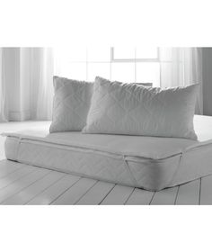 Memory Foam Topper With Free Quilted Pillows Double At Argos Co Uk