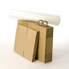 Kit cartons déménagement T1-T2 avec 1 rouleau d'adhésif gratuit