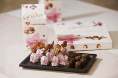 Geisha and Finland Geisha, Chocolate Brands, Fresh Milk, Secret Recipe, Finland, Cocoa, Product Launch, Place Card Holders, Candy