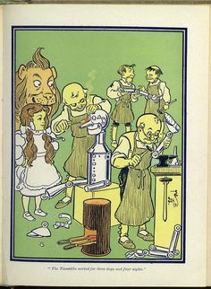L. Frank Baum. The Wonderful Wizard of Oz, cover.