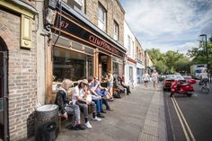 Sunny side up at Climpson's Cafe