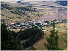 Picture of Creed, Colorado from high above.