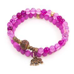 """Berry Buddha"" Set of Two"