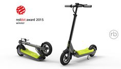 imax electric scooter S1+ -- winner of the 2015 Red Dot Design Awards
