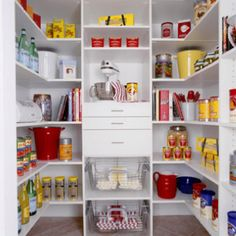 Pantry:  would like a couple of drawers in pantry