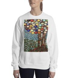 Buy unique print-on-demand products from independent artists worldwide or sell your own designs at the drop of an image! Bizarre Art, Online Printing, Graphic Sweatshirt, Sweatshirts, How To Make, Stuff To Buy, Fashion, Moda, Weird Art
