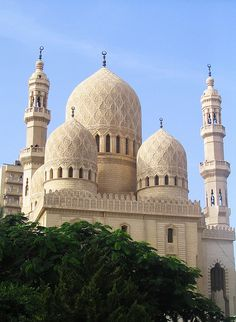 Egypt    Abu El Abbas Mosque, Alexandria, Egypt