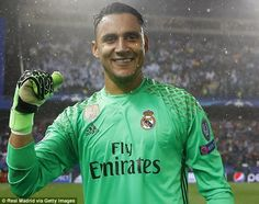 c711c99ca Real Madrid goalkeeper Keylor Navas wants to stay at the club for  years to  come